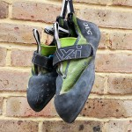 Smelly rock climbing shoes
